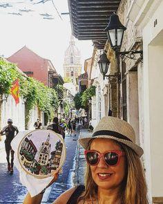 Wanderlust en cartagena de Indias, Colombia.