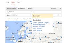 """""""Google Flights"""" findet Flugverbindungen nmun auch in Deutschland... gut oder schlecht für freie Vergleicher?"""