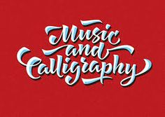 Image result for music typography