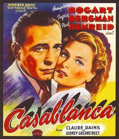 Casablanca Canvas Art Print 12x14