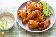 Garlic Buffalo Wings or Chicken Wings Recipe