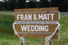 Matthew and Fran's Wedding Painted Boards, Wedding Signage, Decoration, Lace, Diy, Painting, Inspiration, Home Decor, Decorating