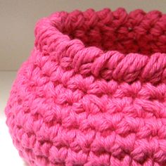 3 Crochet Basket Patterns  - Fast and Easy DIY.
