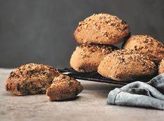 Glutenfri havreboller med surdej | Havreboller uden gluten