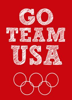Team USA Olympic Printable Sign 5 x 7 Picture America Usa Olympics, Rio Olympics 2016, Summer Olympics, Olympic Sports, Olympic Team, Olympic Games, Team Usa, A Team, Pictures Of America