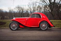 1935 MG PA Airline Coupe, Coachwork by Carbodies Vintage Cars, Antique Cars, Convertible, Chrysler Airflow, Mg Cars, Race Cars, British Sports Cars, Amelia Island, Motor Car
