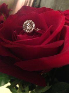 My Tacori Engagement ring!!!