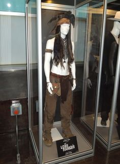 Johnny Depp Tonto costume from Disney's The Lone Ranger