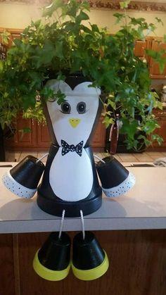 Penguin Planter