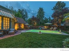 120 North Humboldt Street Denver, CO 80218 - Extensively remodeled, spectacular Tudor in Historic Denver Country Club. Designed by Jacques Benedict and built in 1912.