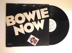 20% OFF SALE David Bowie Bowie Now LP Album Rare Dj Promo Only 1978 Vinyl Record Breaking Glass