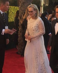 Meryl has arrived. #merylstreep #sagawards #wwdeye  via WOMEN'S WEAR DAILY MAGAZINE OFFICIAL INSTAGRAM - Celebrity  Fashion  Haute Couture  Advertising  Culture  Beauty  Editorial Photography  Magazine Covers  Supermodels  Runway Models