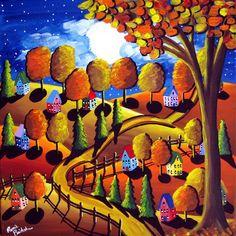 Fall Night   Renie Britenbucher