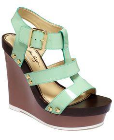 ABS by Allen Schwartz Shoes, Zxen Platform Wedge Sandals - Espadrilles & Wedges - Shoes - Macys