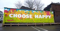 Illustrator: Mike Perry Client: Koodo Mobile Project: Mural, Toronto, ON Campaign: #ChooseHappy Date: May 2015  #mikeperry #illustrator #mural #toronto #choosehappy #may2015 #koodomobile #koodo