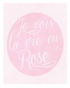 60 Free Wall Art Printables for Kids' Rooms Free Printable Art, Free Printables, Rose Pastel, Shabby, Everything Pink, Color Rosa, France, Sweet Nothings, Jaba