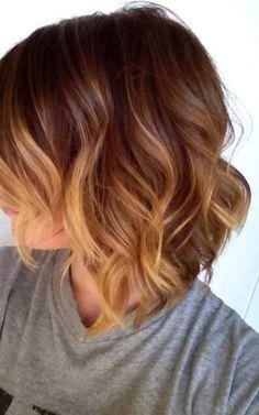 short ombre hair #5