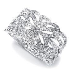 Everything But The Wedding Dress, Bridal Cuff Bracelet $49