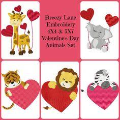 ValentinesDayAnimalsSet