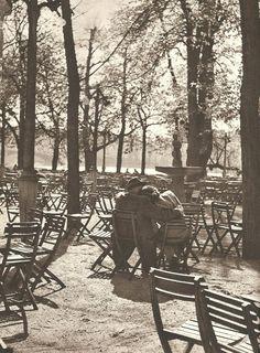 """lostandfoundinprague: """" Prague autumn lovers by E.Einhorn, late 50's """""""