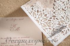 Ρομαντικό προσκλητήριο Γάμου laser cut σχέδιο δαντέλα Frame, Decor, Picture Frame, Decoration, Frames, Decorating, Hoop, Deco, Embellishments