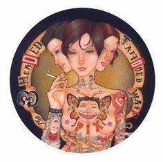 The 3-Headed, Tattooed Waif by John John Jesse