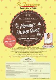 MommyGiay: Mommy's Kitchen Quest at IL Terrazzo