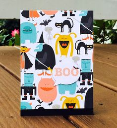 Lindsey @ Occasional Crafting: Oct '15 12 Kits of Occasions Cute Halloween, Halloween Cards, Welcome, Kit, Crafting, Crafts To Make, Crafts, Handarbeit, Girl Scout Crafts