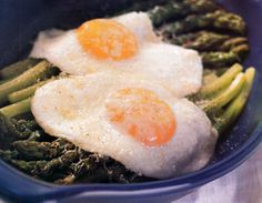 Read helpful reviews of the recipe for Fried Eggs and Asparagus with Parmesan, submitted by Epicurious.com members