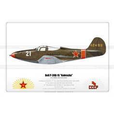 "P-39Q-15 ""Kobrusha"" '21 White' SK-07 - Aviationgraphic"