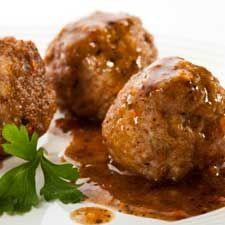 #Boulettes de #viande à la suédoise