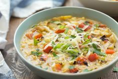 This Southwestern Potato and Corn Chowder is simple to make with leftover grilled vegetables, or start with fresh from scratch! It's loaded with potatoes, corn, peppers, and tons of Southwest flavor! Chowder Recipes, Soup Recipes, Cooking Recipes, Recipies, Dinner Recipes, Potato Corn Chowder, Potato Soup, Creamy Corn, Meat Appetizers