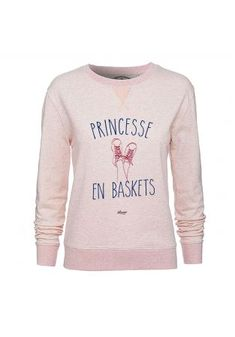 "Sweat ""Princesse en Baskets"""