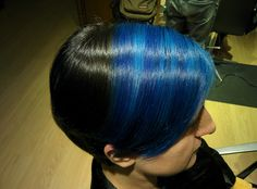 #bluehair #mavisaç #igoraroyal #manicpanic #eslabondexx #saçyapımcı