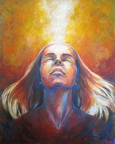Prophetic Painting - Revelation by Tamer and Cindy Elsharouni