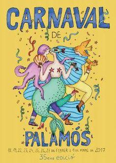 Carnaval de Palamós   Diferents espais (Palamós) Des del 18 de febrer fins a l'1 de març