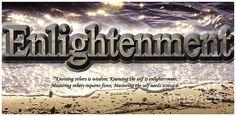 Enlightenment Poster by Ola Allen.