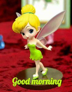 New 631 + Good Morning Image Polymer Clay Disney, Cute Polymer Clay, Polymer Clay Dolls, Girl Cartoon Characters, Cute Cartoon Girl, Cartoon Pics, Tinkerbell Wallpaper, Disney Wallpaper, Crea Fimo