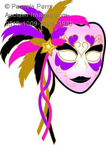 colorful mardi gras mask picture photo clipart mardi gras and rh pinterest com  masquerade mask clipart free