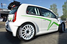 ŠKODA shows ŠKODA Citigo Rally design study at the 31st Volkswagen GTI Meeting at Wörthersee in Austria. The koncept is based on the ŠKODA Citigo, the new subcompact model line of the brand and brings dynamics and success of ŠKODA rally cars to the road.