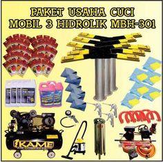 Paket Cuci Mobil 3 Hidrolik MBH – 301