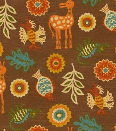 Home Decor Print Fabric-Waverly Mexicali Adobe & Print Fabric at Joann.com.  Would like to add a Mexican flair.