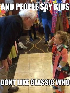 classic who and kids