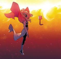 Thor (Jane Foster) by Russel Dauterman