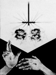 """Through the Eye of the Slanderer"" (pencil on paper, 31X42cm)"