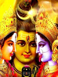 Shiva,Durga,Kali