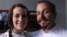 Chef Benito Molina and his wife Solange, owners of Manzanilla.