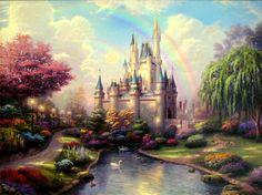 Kinkade Disney items in Karen's Kinkade Art Store store on eBay!