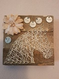 Horse String Art by HandiDaniStringArt on Etsy