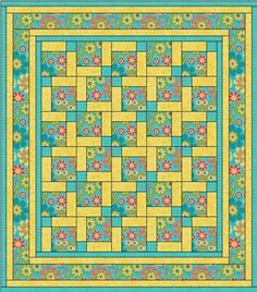 Topsy Turvey - 3 yard quilt pattern